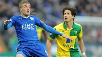 Für Timm Klose (rechts) endete das erste halbe Jahr in England bei Norwich City mit dem Abstieg aus der Premier League