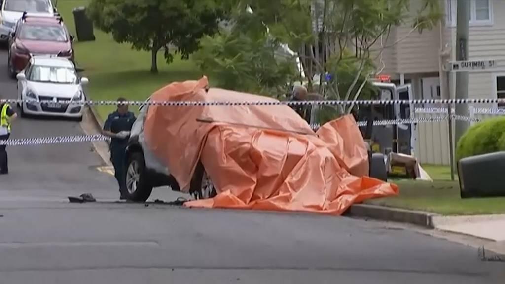 Australien: Drei Kinder sterben in brennendem Auto