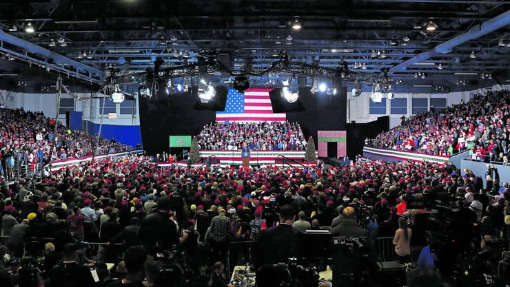 Ein Populist im Weissen Haus: US-Präsident Donald Trump stellt sich gerne als Anwalt für die einfachen Leute dar – und begeistert so seine Anhänger.