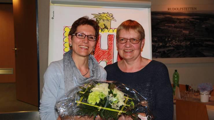 Wurden an der GV verabschiedet: Heidi Behringer und Annemarie Schorr