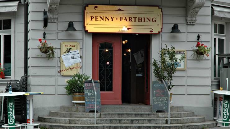 Hier prügelten sich die beiden Männer: Das Pub Penny Farthing in Aarau. (Archivbild)