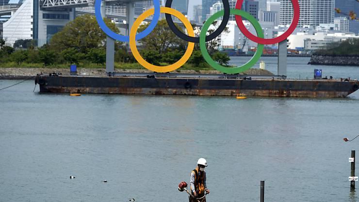 Japan übernimmt laut Ministerpräsident Shinzo Abe die Kosten für die Verschiebung der Olympischen Spiele. (Archivbild)