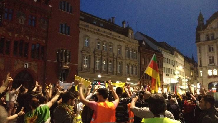 Demonstrieren ohne Krawall.