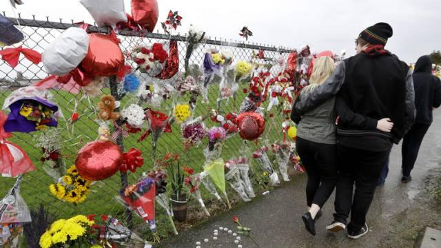 Gedenkstätte für die Opfer des Amoklaufs