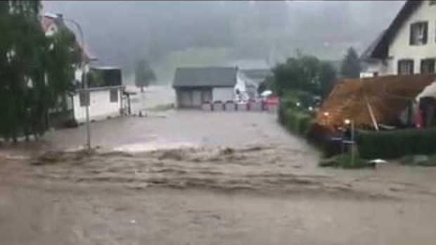 Reissender Strom floss durch Bottenwil