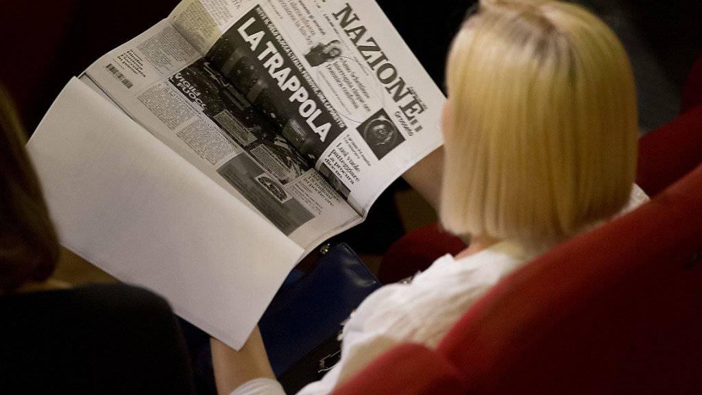 Italienische Medien wehren sich gegen ein neues Gesetz und bestreiken daher den EU-Sondergipfel in Rom. (Symbolbild)