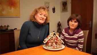 Iolani (14) und ihre Mutter Madeleine Blouin geniessen die gemeinsame Zeit, die sie haben. Markus Kocher