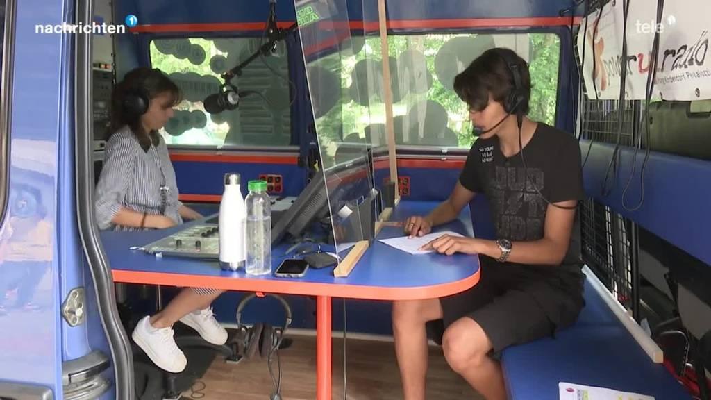 Start des Schülerprojekts «Radio Church-Hill» in Kriens