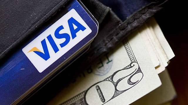 Beliebte Kreditkarte: Visa verdient gut an der Kauflust der Menschen (Archiv)