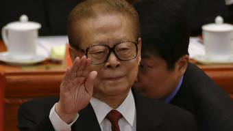 Der ehemalige chinesische Präsident Jiang Zemin (Archiv)