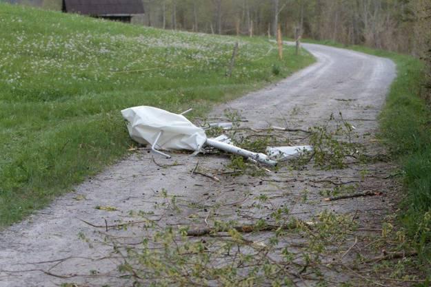 Kleinflugzeug bei Zweisimmen abgestürzt