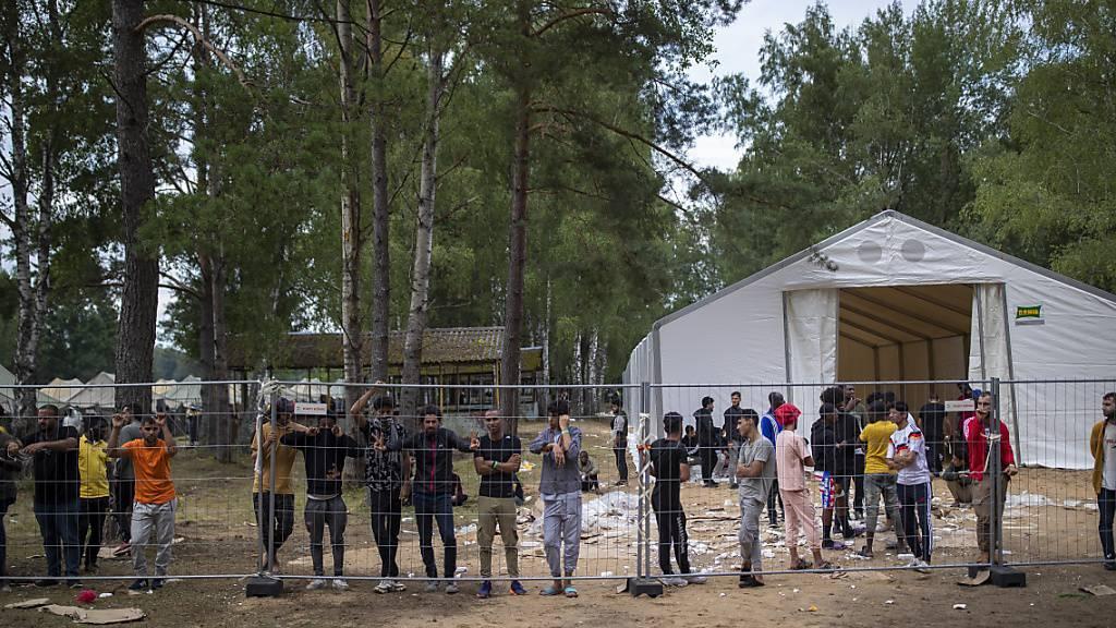 EU beruft Sondersitzung zu illegalen Grenzübertritten aus Belarus ein