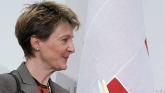Simonetta Sommaruga will mit Rumänien stärker zusammenarbeiten (Archiv)