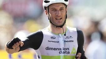 Freut sich über seinen zweiten Etappensieg bei der Tour de France: Stephen Cummings