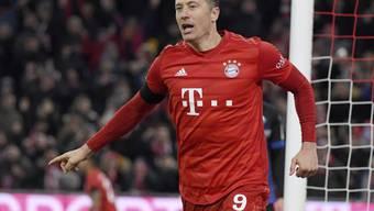 Bayern München muss vier Wochen auf seinen Toptorjäger Robert Lewandowski verzichten