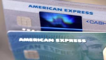 Konsumfreudige Kunden: Der Kreditkartenanbieter American Express profitiert derzeit von der boomenden US-Konjunktur. (Symbolbild)