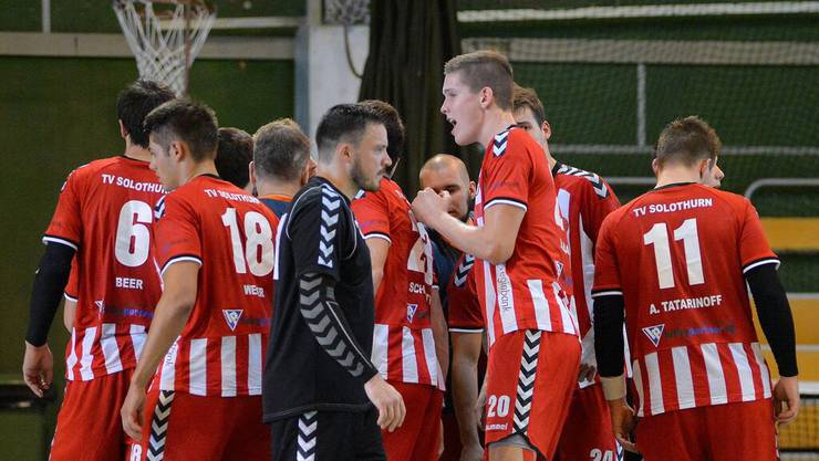 Der TV Solothurn gewinnt auch sein 2. Meisterschaftsspiel und entführt 2 Punkte beim Aufsteiger Jegenstorf.