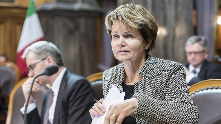 Ist sie am Ende die einzige Frau im Ständerat? Nur Brigitte Häberli-Koller (CVP, TG) tritt wieder an.