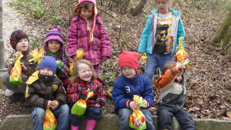 Alle Kinder haben ihr Nestli gefunden