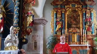 Bischof Fritz-René Müller feiert sein Priesterjubiläum. mw