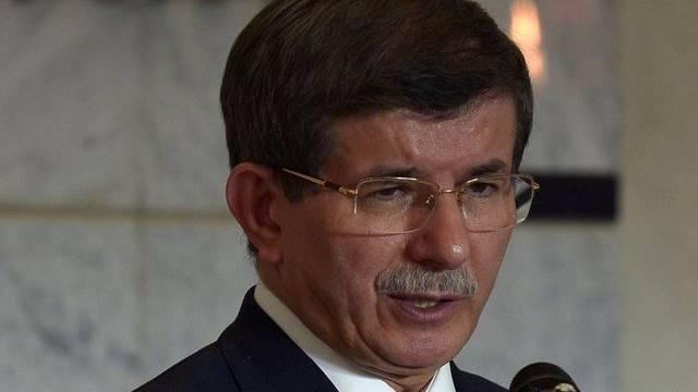 Der türkische Aussenminister Ahmet Davutoglu (Archiv)