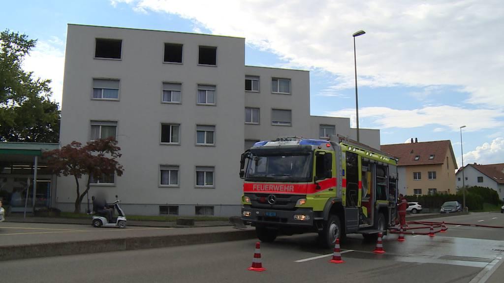 Küchenbrand in Fehraltorf (ZH) verursacht grossen Sachschaden
