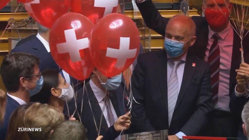 Bundesrat Ueli Maurer feiert 70. Geburtstag