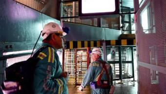 Arbeiter in einer anderen Goldmine von Harmony Gold Mining (Archiv)
