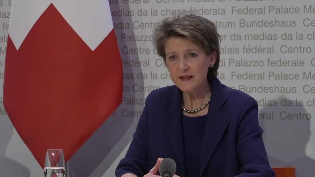 """""""Ausserordentliche Lage"""": Bundesrat erklärt Notstand – weitgehende Abriegelung (16.3.2020)"""