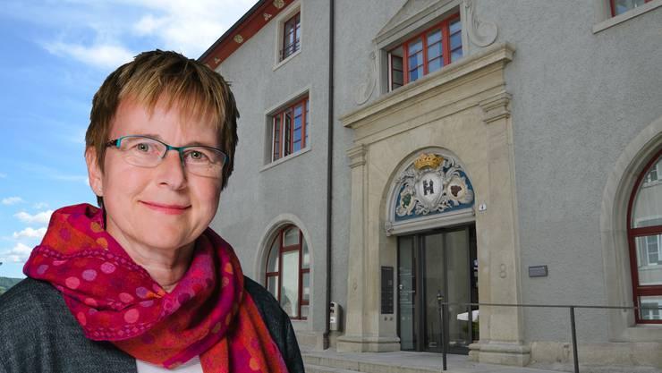 Die frisch gewählte Bezirksrichterin Susanne Baumgartner (EVP).