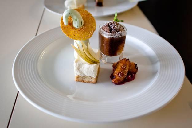 Das preisgekr+Ânte Dessert