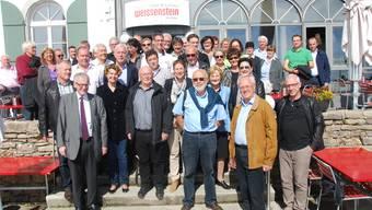 Nachdem die Bergfahrt noch mit dem Postauto erfolgte, zeigte sich die Heilbronner Delegation geblendet vom schönen Wetter auf dem Solothurner Hausberg.