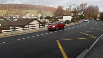 Auf der Ehrendingerstrasse nach Baden wird ab Januar eine elektronische Busspur eingeführt.