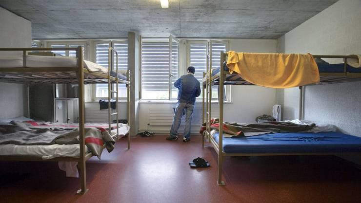 Das Empfangs- und Verfahrenszentrum Bässlergut in Basel steht unter der Obhut des Staatssekretariats für Migration. (Symbolbild)