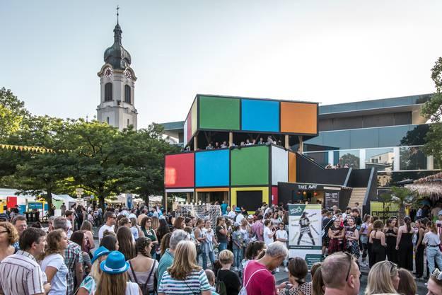 Rubik's Cube, die «schönste» Beiz am Stadtfest.