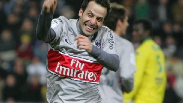 Ludovic Giuly traf zum 1:0 gegen Nantes