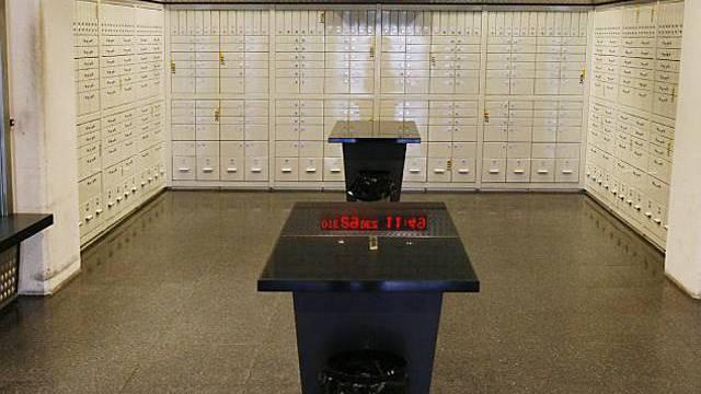 Der Postfach-Raum der Sihlpost in Zürich