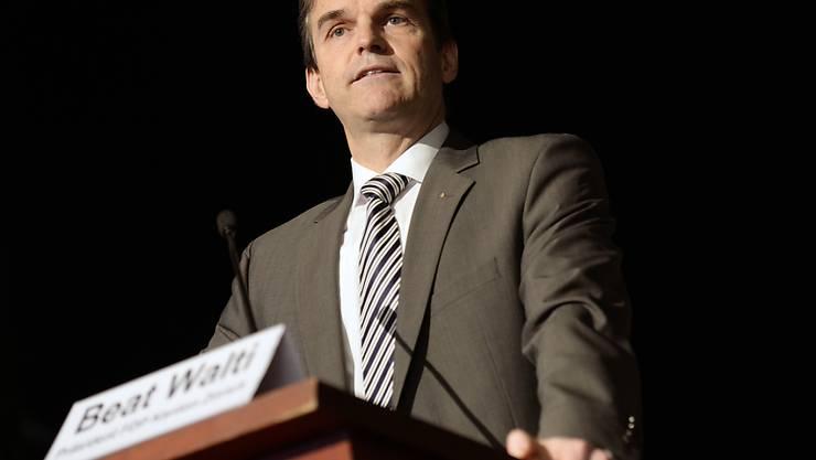 Beat Walti, Zürcher FDP-Präsident.