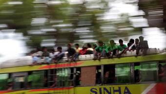 Indien hat weltweit die meistne Tot durch Verkehrsunfälle. (Symbolbild)