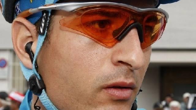 Johann Tschopp Tagesdritter der 8. Vuelta-Etappe