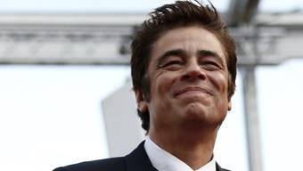 """Schauspieler Benicio Del Toro wird an den diesjährigen Filmfestspielen in Cannes die Leitung der Jury für den Sonderpreis """"Un certain regard"""" übernehmen. (Archivbild)"""