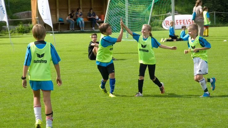 In den letzten Jahren besuchten schweizweit rund 4000 Kinder dieKidsDays.