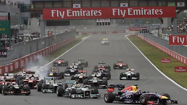 Kein GP-Rennen in Südkorea