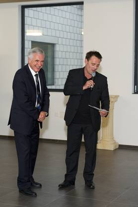 Hanspeter Latour und Heinz Margot