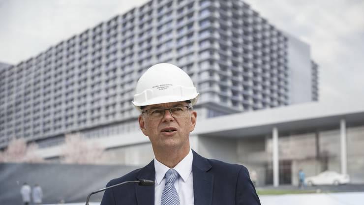 Martin Häusermann, CEO Solothurner Spitäler AG.