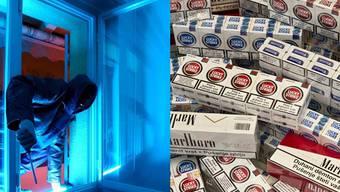 Die Einbrecher konnten beim Versuch, Zigaretten zu stehlen, geschnappt werden.(Symbolbild)
