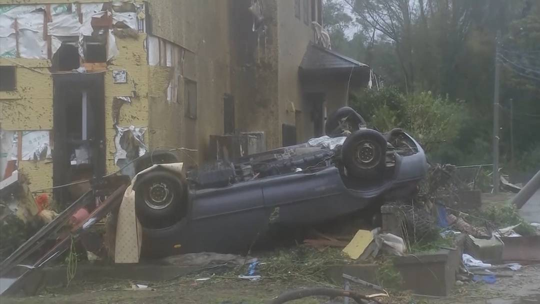 Japan: Tornado tötet Mann
