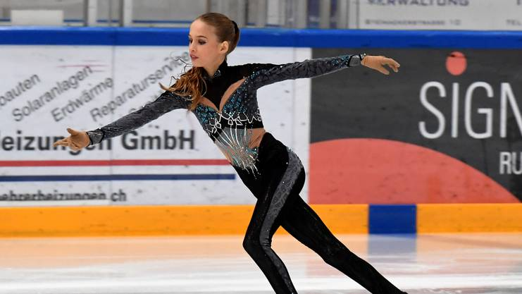 Schweizer Meisterin in der Kategorie U14: Kimmy Repond.