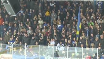 Beim gestrigen Derby zwischen EHC Olten und SC Langenthal herrschten erhöhte Sicherheitskontrollen. Grund dafür war das schockierende EHC Olten-Banner vom September.
