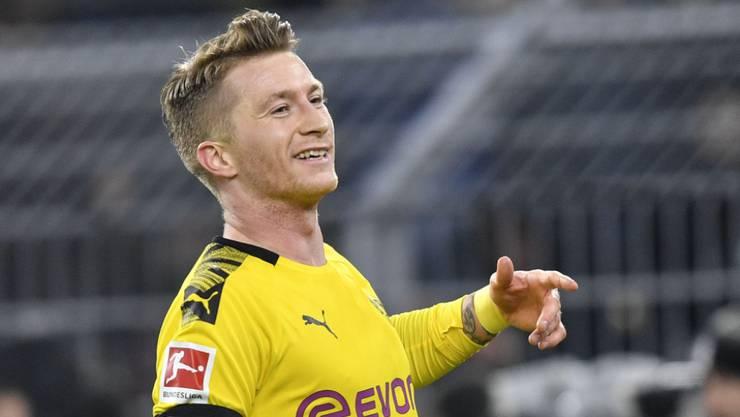 Dortmunds Captain Marco Reus zeigt sich in diesen schweren Zeiten spendabel